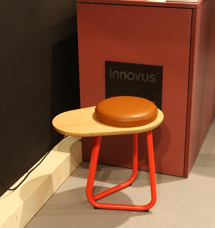 Stool 01 by Studio Daphna Laurensas seen at Salone Satellite, Milan Furniture Fair 2016