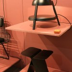 The Tre Stool and the Etagere Light by Studio Daphna Laurens, as seen at Prototipi, Salone Satellite Milan 2016