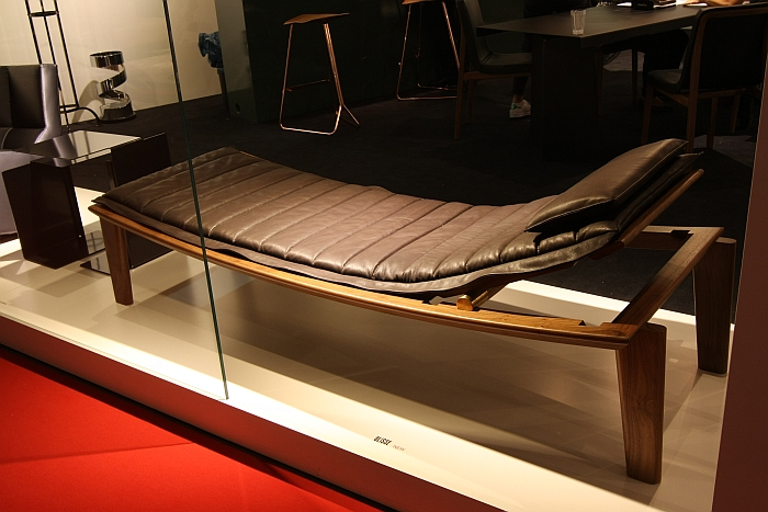 Ulisse Daybed by Konstantin Grcic for ClassiCon, as seen at Milan Furniture Fair 2016