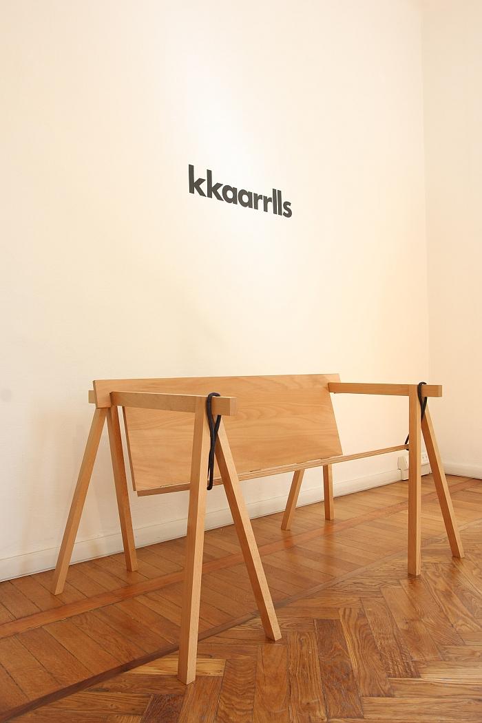 Bockbank by Max Guderian, as seen at kkaarrlls 2016, Milan