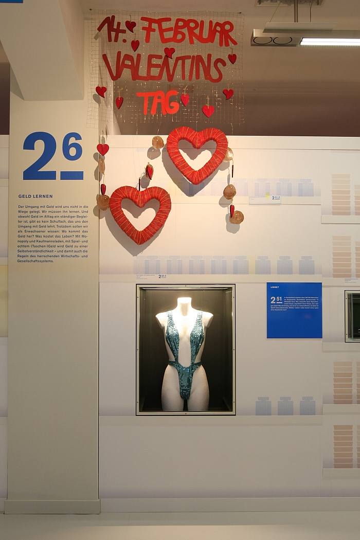 Buying love, privately or commercially...... as seen at Geld, smac – State Museum for Archaeology in Chemnitz