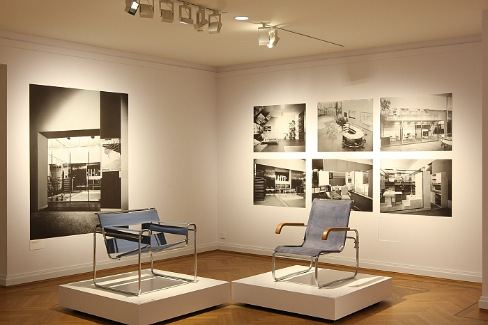 """The B3 """"Wassily Chair"""" & B 35 by Marcel Breuer, as seen at Germany versus France. The Struggle over Style 1900-1930, Bröhan Museum Berlin"""
