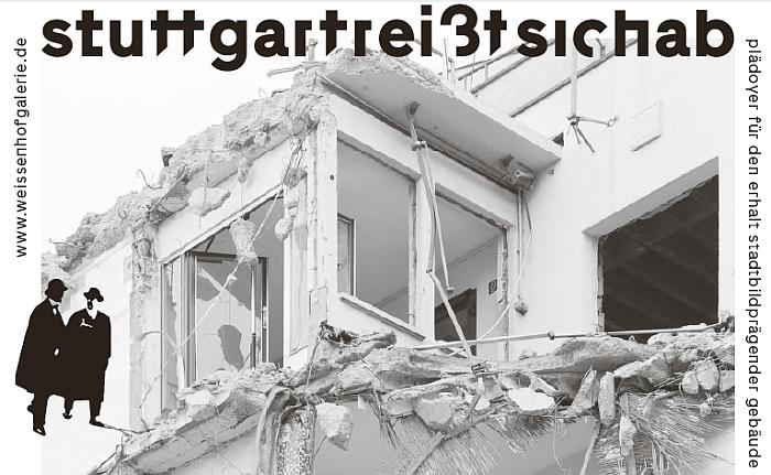 Stuttgart reißt sich ab Architekturgalerie am Weissenhof, Stuttgart