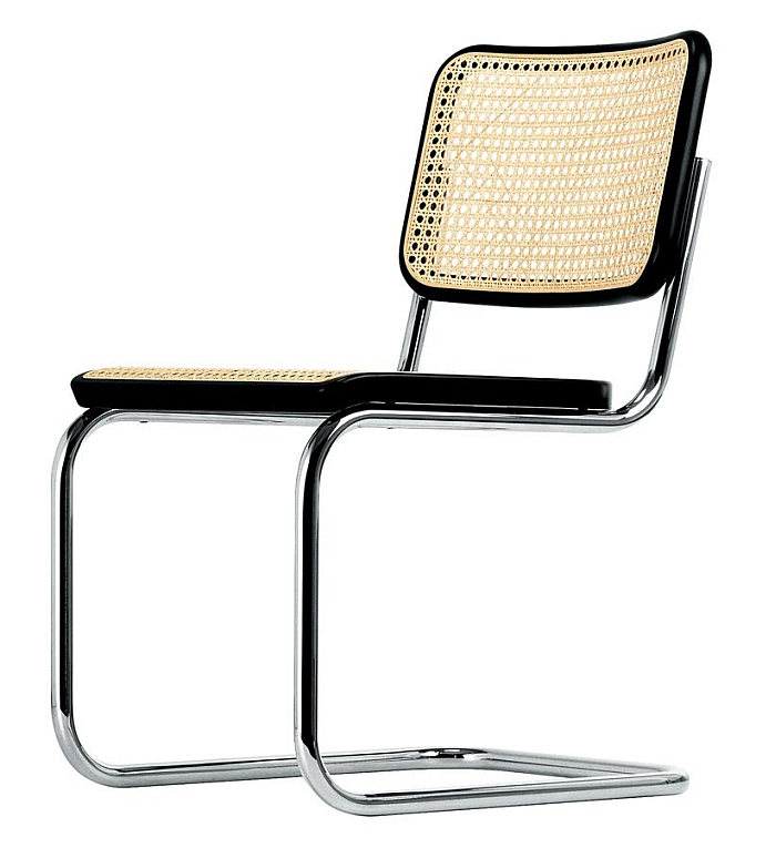 S32 by Marcel Breuer for Thonet (Artistic Copyright since 1932, Mart Stam)