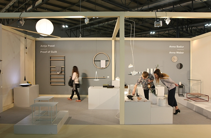 Proof of Guilt, together with friends from Halle & Berlin @ Salone Satellite Milan 2016