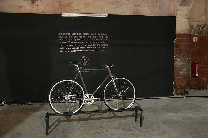 Happarel Bicycles, as seen at DMY Berlin 2016. Off