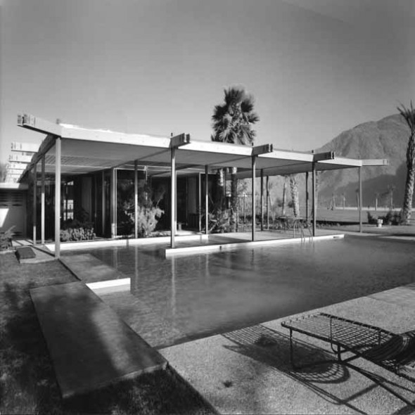 Shamel Residence, Palm Desert, California by William F. Cody (Photo © Julius Shulman, courtesy A+D Museum Los Angeles)