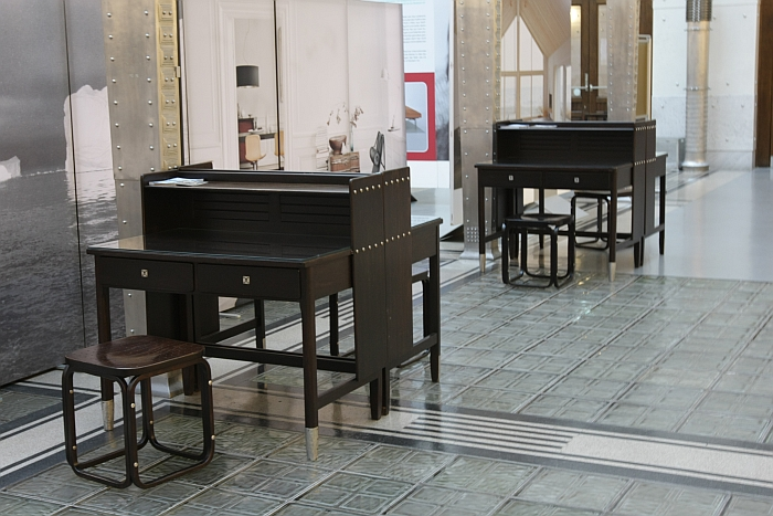 Furniture for the Postsparkasse Wien by Otto Wagner