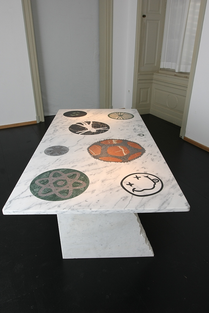 The Youhutseymatic Table Top by Richard Hutten, as seen at Friends + Design, Kunstgewerbemuseum Dresden