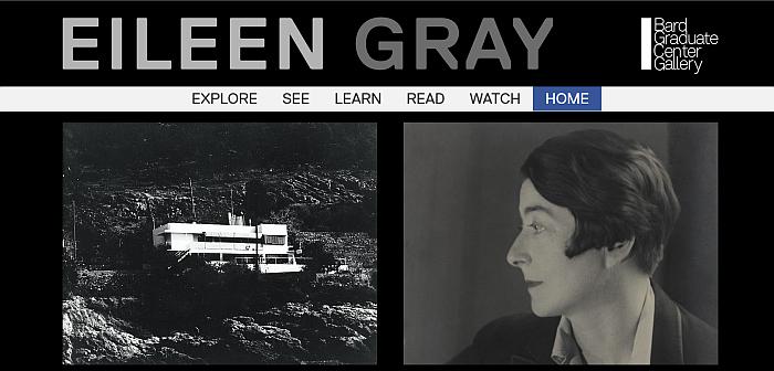 Eileen Gray - Bard Graduate Center Gallery Online