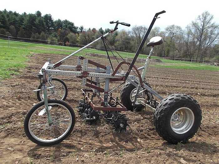 Culticycle by Green Tractor Farm through Farm Hack Tools (Photo: By Farm Hack)