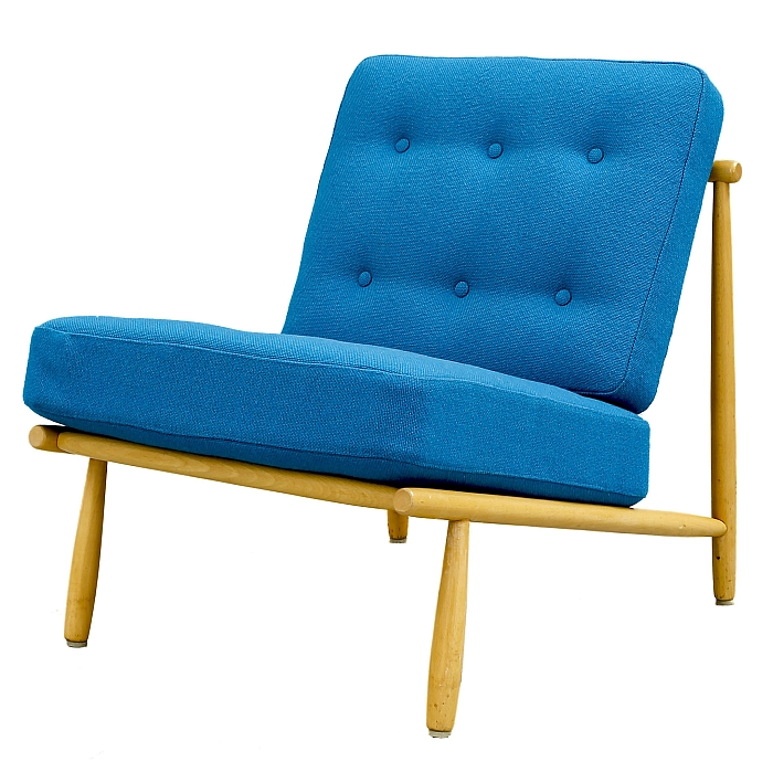 A loung chair by Alf Svensson for Dux, 1952 (Photo: Bukowskis, Courtesy of Falkenbergs Museum)