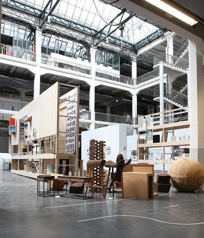 Hochschule für Gestaltung Karlsruhe - Rundgang durch die Lichthöfe 2016