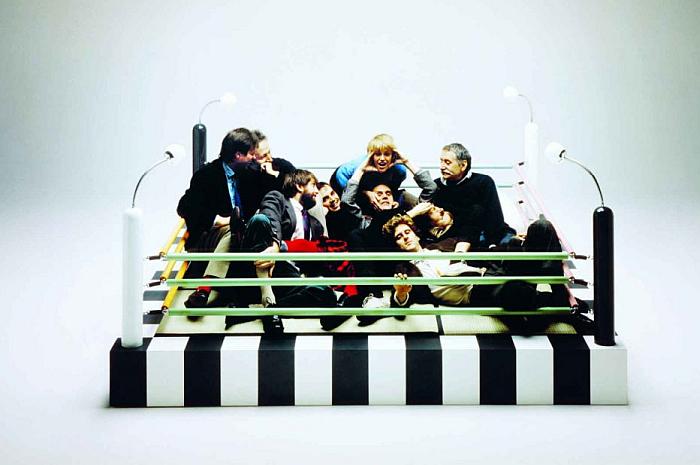 Memphis: 40 Years of Kitsch and Elegance at the Vitra Design Museum Gallery, Weil am Rhein, (Photo © Masanori Umeda © Studio Azzurro, courtesy Memphis, Milano & courtesy Vitra Design Museum)