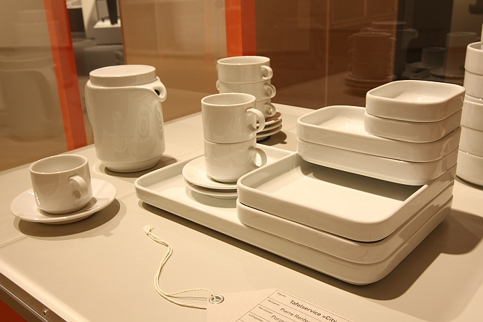 "The DIN based crockery service""City"" by Pierre Renfer for Langenthal, as seen at Divine Golden Ingenious The Golden Ratio as a Theory of Everything? at the Museum for Communication Berlin"