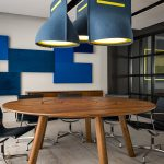 The BuzziBell acoustic lamp by Chris Hardy for BuzziSpace