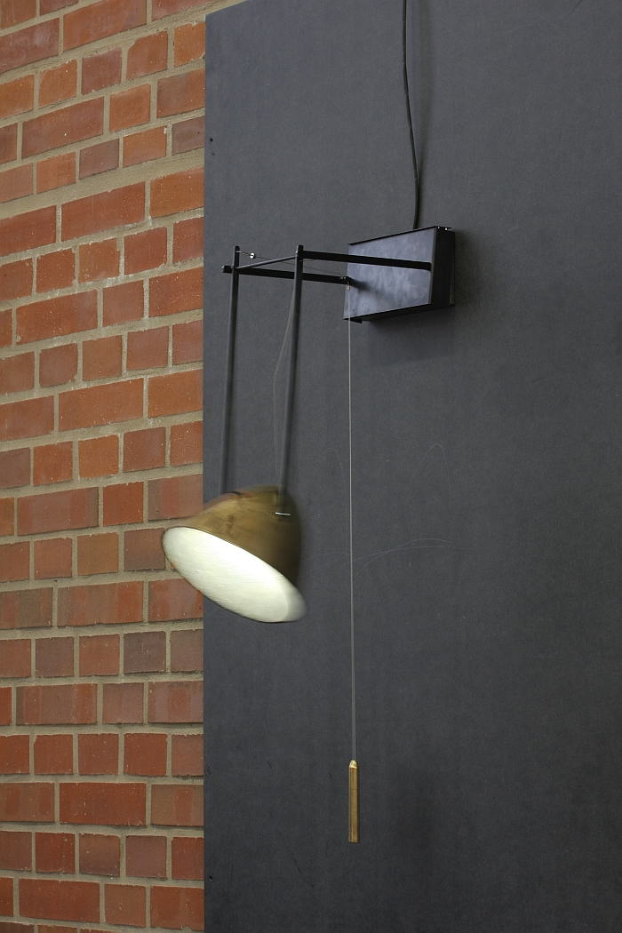 Interlude Wall Light by Elena Tezak, as seen at the International Marianne Brandt Contest 2016 Exhibition