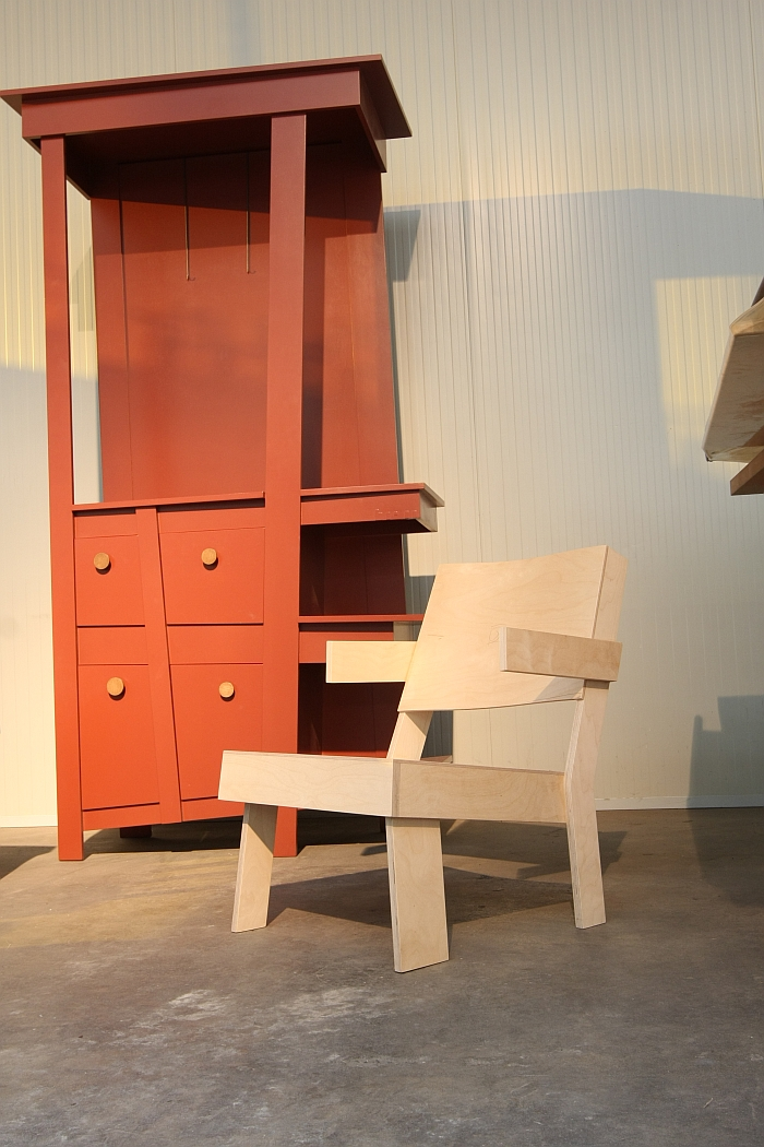 Low Chair Tom Frencken, as seen at Dutch Design Week 2016. Here at Sectie C