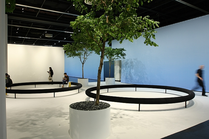 The Garden by Ronan & Erwan Bouroullec, it took the public a while to get the idea.....