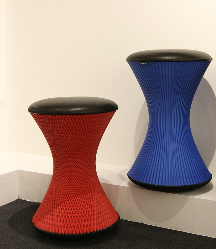 PrintStool by Thorsten Franck for Wilkhahn, here as seen at NeoCon Chicago 2016