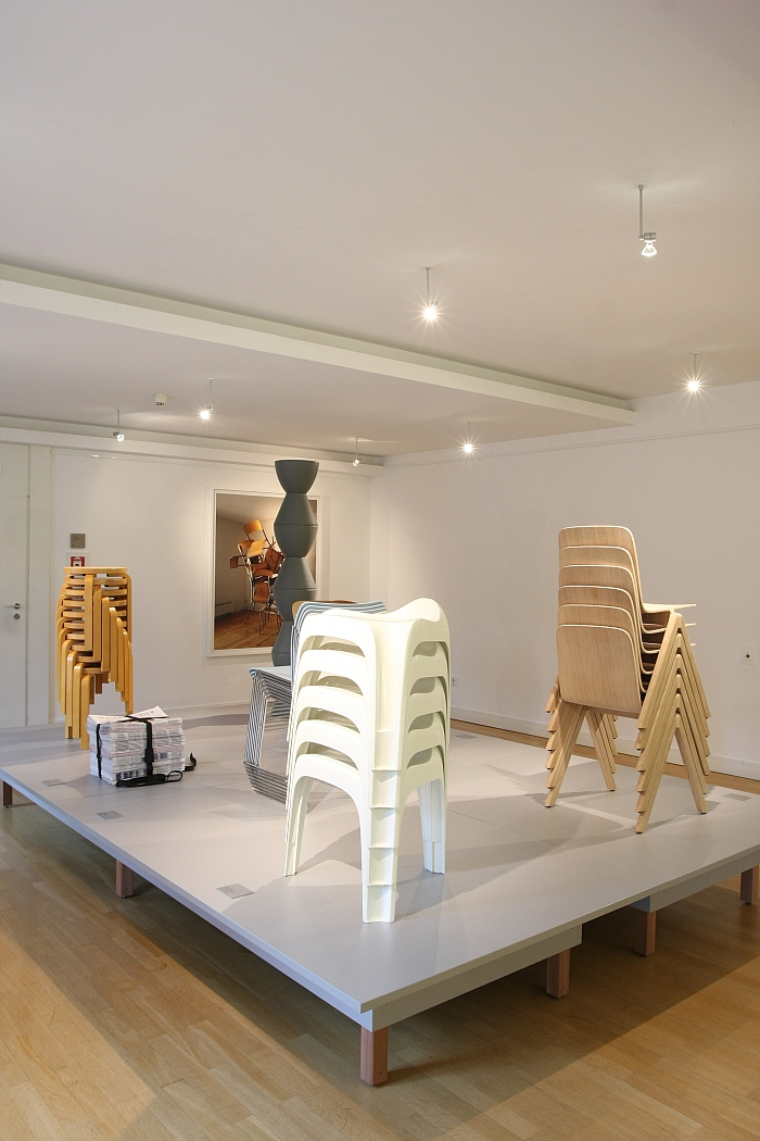 Stackable Chairs, as seen at Stapeln. Ein Prinzip der Moderne at the Wilhelm Wagenfeld Haus Bremen