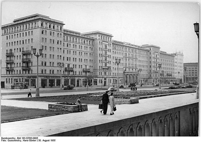 Stalinallee Berlin ca. 1955
