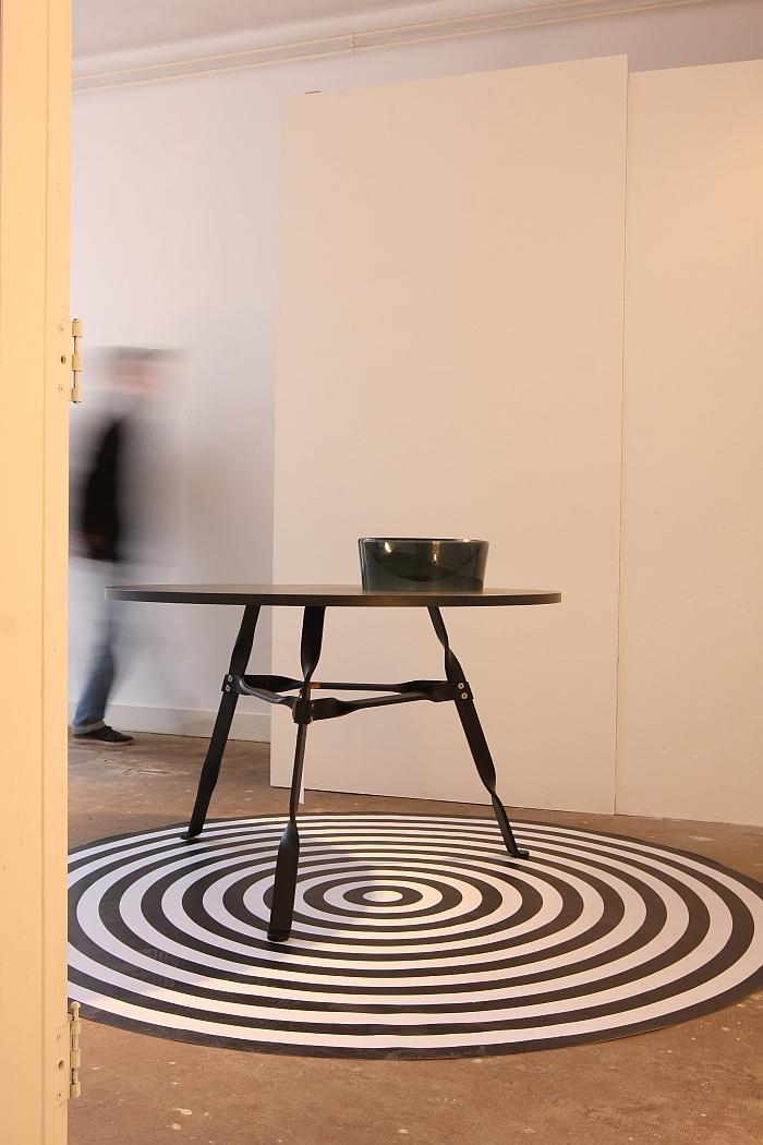 Twist Table by Thomas Schnur for Functionals, as seen Kazerne Eindhoven, Dutch Design Week 2016