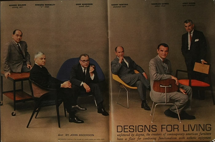 playboy july 1961 Designs for Living