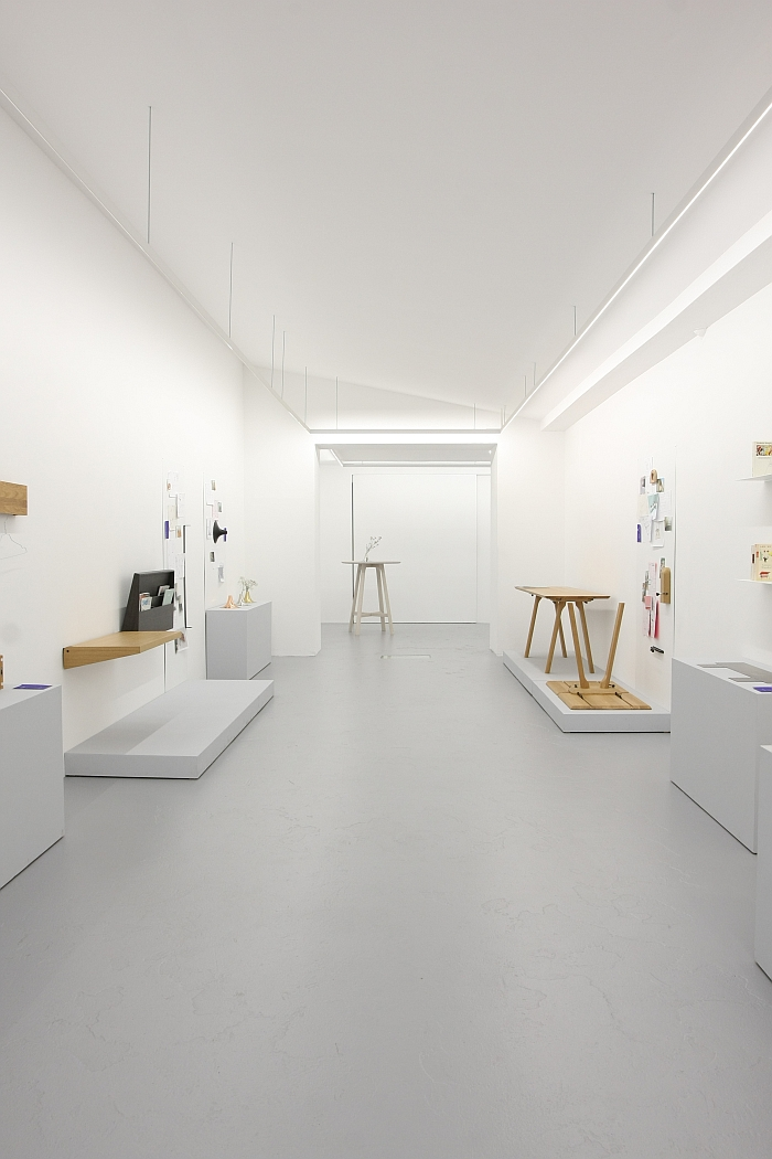 """The """"workshop"""" space, 5 Years kaschkasch, Cologne"""