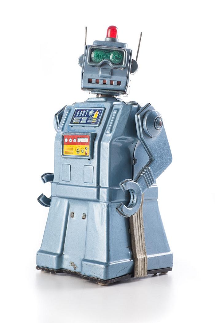 Yonezawa, »Directional Robot«, 1957 (Photo: Andreas Sütterlin, 2016, courtesy Vitra Design Museum)
