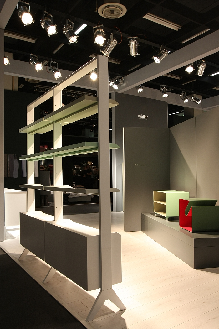 Scala by e27, Tim Brauns for Müller Möbelfabrikation, as seen at IMM Cologne 2017
