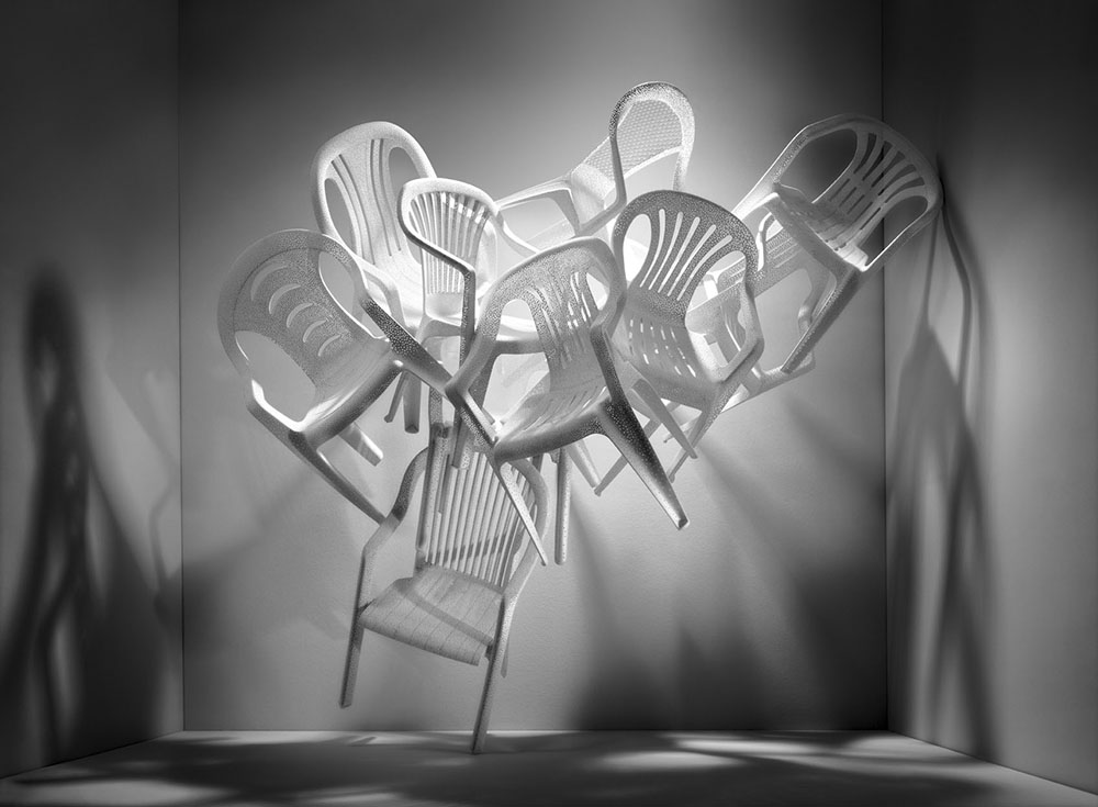 Monobloc - A Chair for the World, Vitra Design Museum Schaudepot (Photo Christoph Sagel, courtesy Vitra Design Museum)