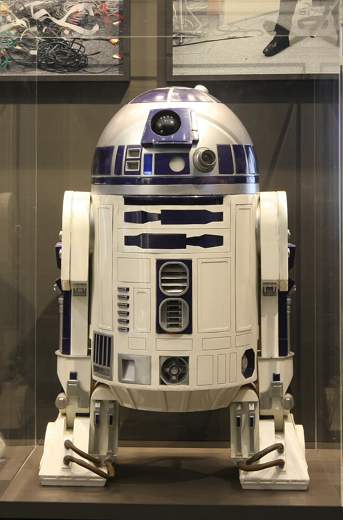 "Proof that all exhibitions need an A-List celebrity to ensure publicity. And we feel for it....."" R2D2, as seen at Hello, Robot. Design between Human and Machine, Vitra Design Museum"