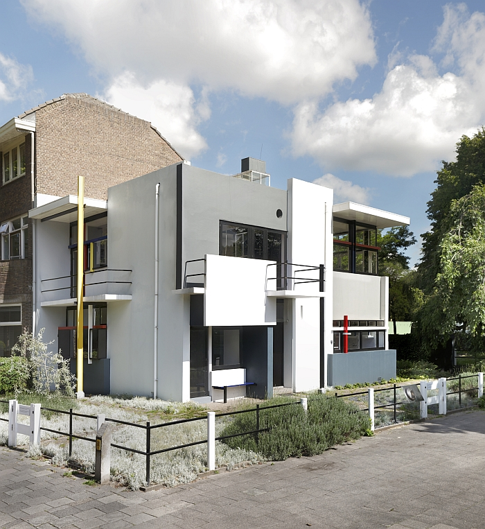 The Rietveld Schröder House (Photo & © CMU/Ernst Moritz/Pictoright)
