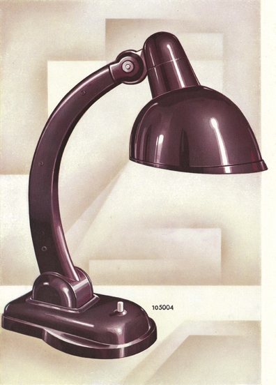 "Resopal lamp ""by"" Christian Dell for Stotz-Kontakt, 1929"