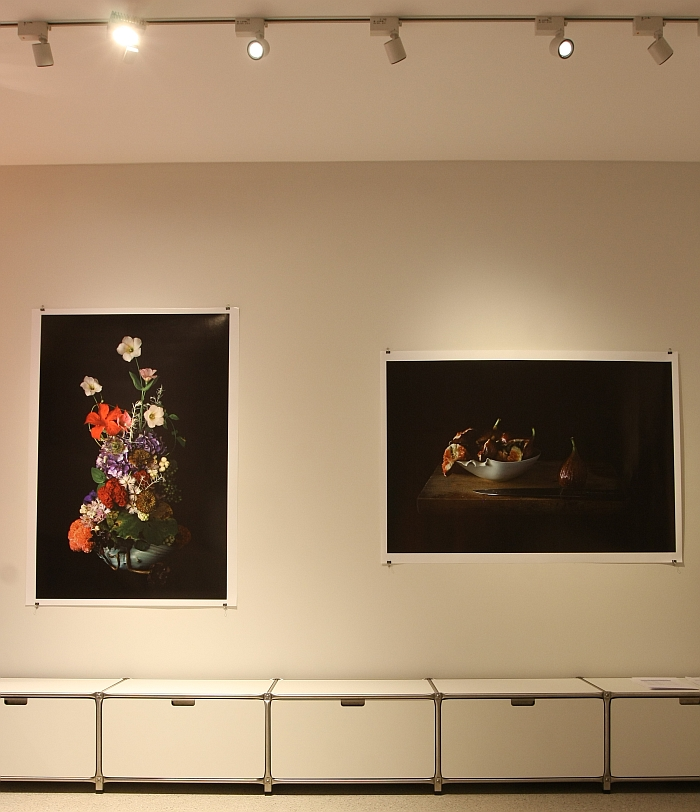 Ikebana Flower Arrangements, photos by Atsunobu Katagiri featuring bowls from the Carpel collection by Hyejeong Kim