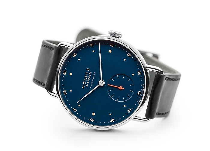 Metro Nachtblau by Mark Braun for NOMOS Glashütte
