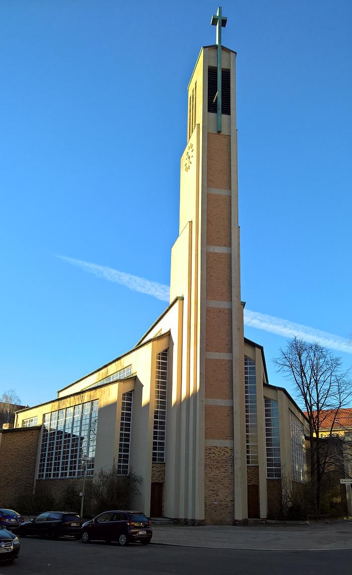 Gustav-Adolf-Kirche Berlin by Otto Bartning
