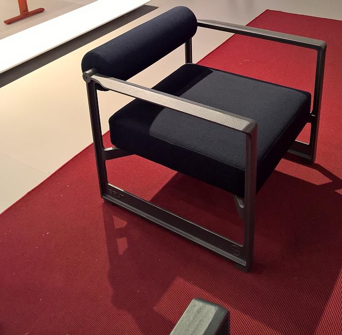 Brut Armchair by Konstantin Grcic for Magis, as seen at Milan Furniture Fair 2017