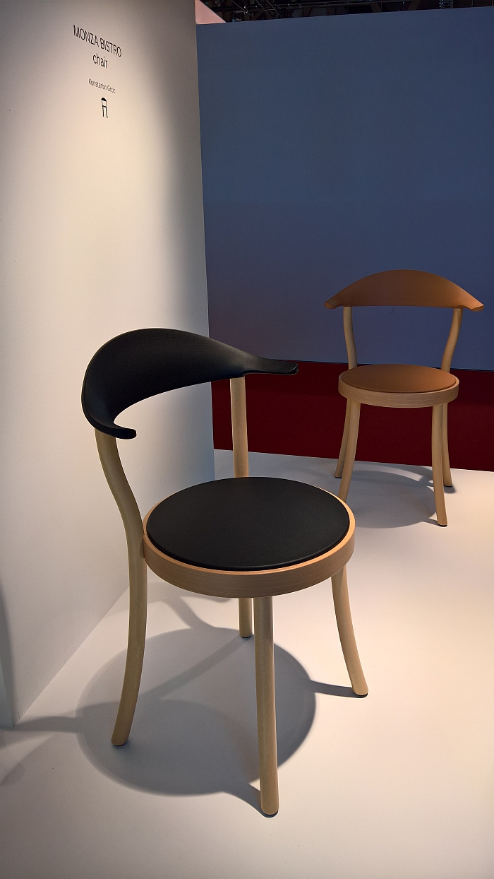 Monza Bistro Chair by Konstantin Grcic for Plank, as seen at Milan Furniture Fair 2017