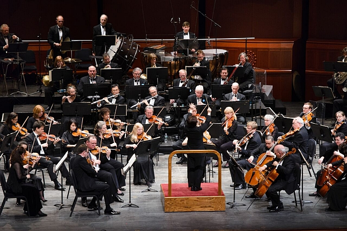 New Jersey Symphony Orchestra at New Jersey Performing Arts Center, Newark (Photo © Fred Stucker, courtesy NJSO)