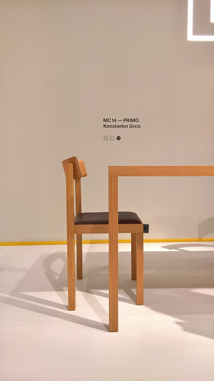 Primo Chair by Konstantin Grcic for Mattiazzi, as seen at Milan Furniture Fair 2017