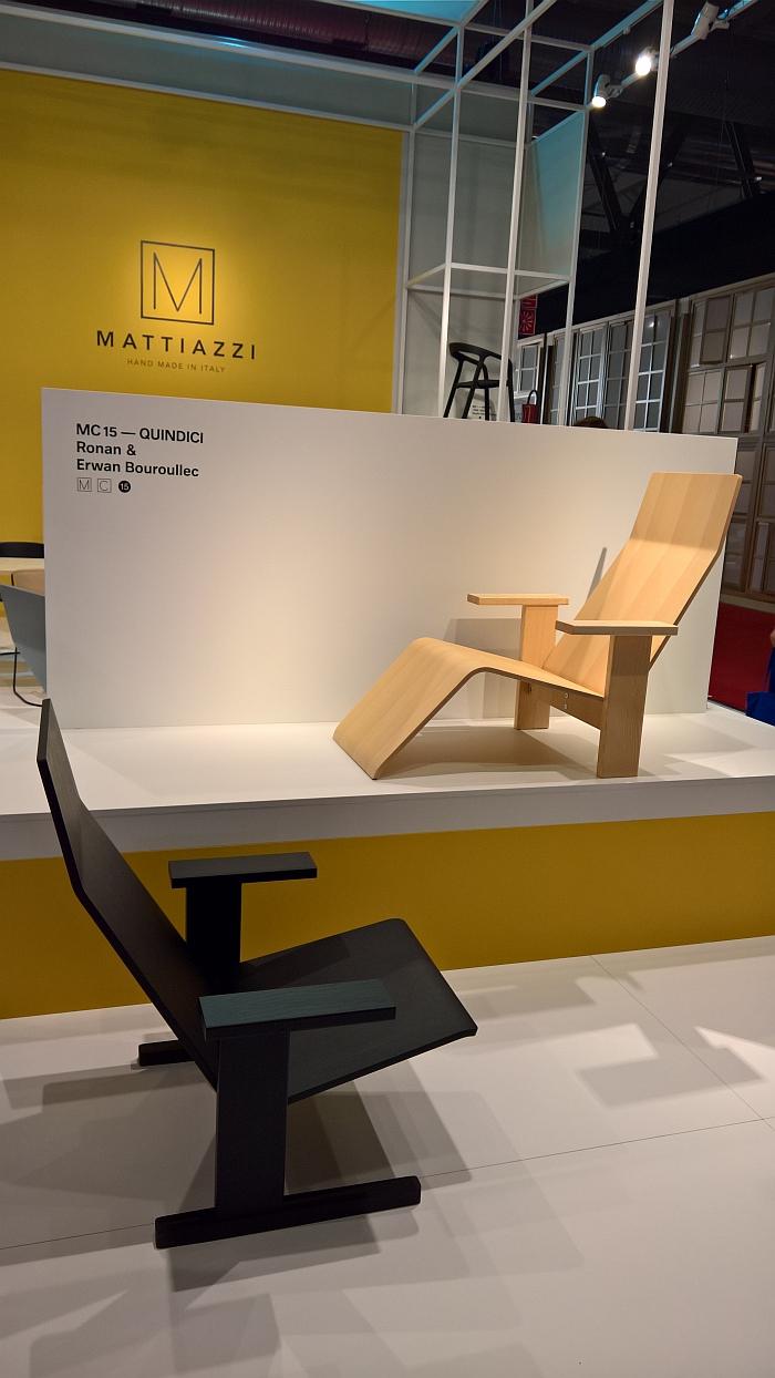 Quindici by Ronan & Erwan Bouroullec for Mattiazzi, as seen at Milan Furniture Fair 2017