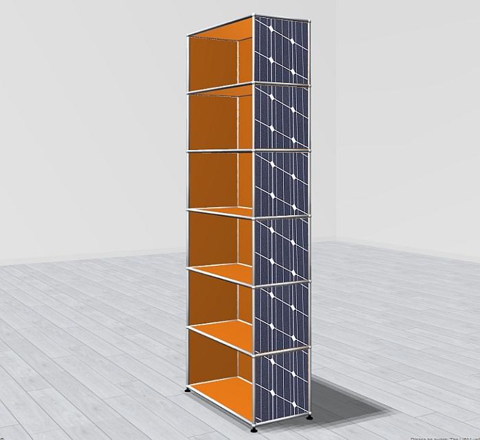 USM Haller solar panels