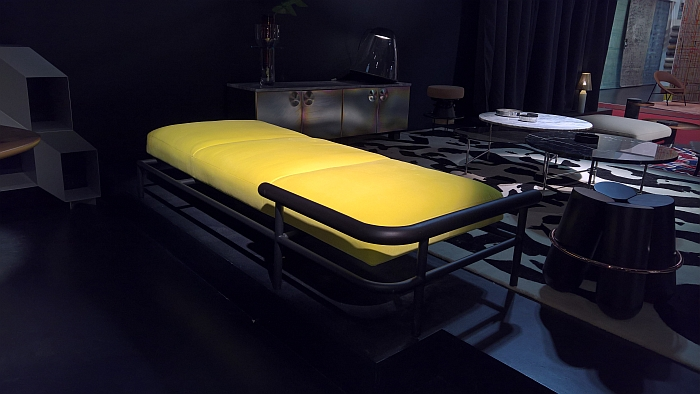 X-Ray Sofa Bed by Alain Gilles for La Chance, as seen at Milan Furniture Fair 2017