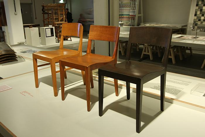 Side chair by Martin Decker, as seen at Craft becomes Modern. The Bauhaus in the Making, Bauhaus Dessau