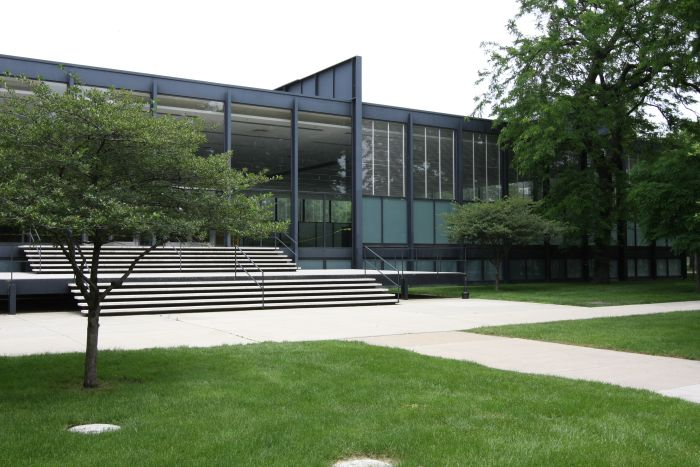 Illinois Institute of Technology Chicago by Ludwig Mies van der Rohe, Florence Knoll's Alma mater