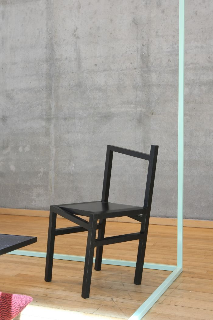 9.5° Chair by Rasmus B. Fex, as seen at Much More Than One Good Chair, Felleshus Berlin