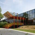 ADAM Brussels entrance, designed by Ateliers Jean Nouvel & MDW Architecture