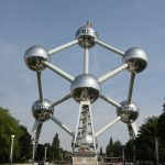 Atomium Brussels by André Waterkeyn and André and Jean Polak. 59 and still shiny